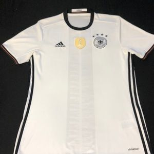 Germany Jersey replica with World Cup Champ Badge